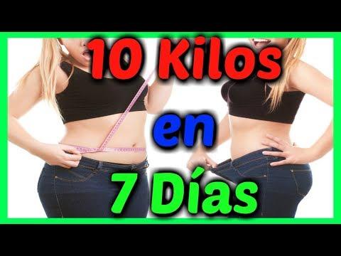 ?? COMO BAJAR DE PESO EN UNA SEMANA EN CASA [2018] 10 kilos o MÁS! Fácil y Rápido??