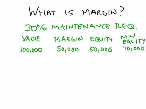 What is margin and a margin call? Created with ShowMe iPad App