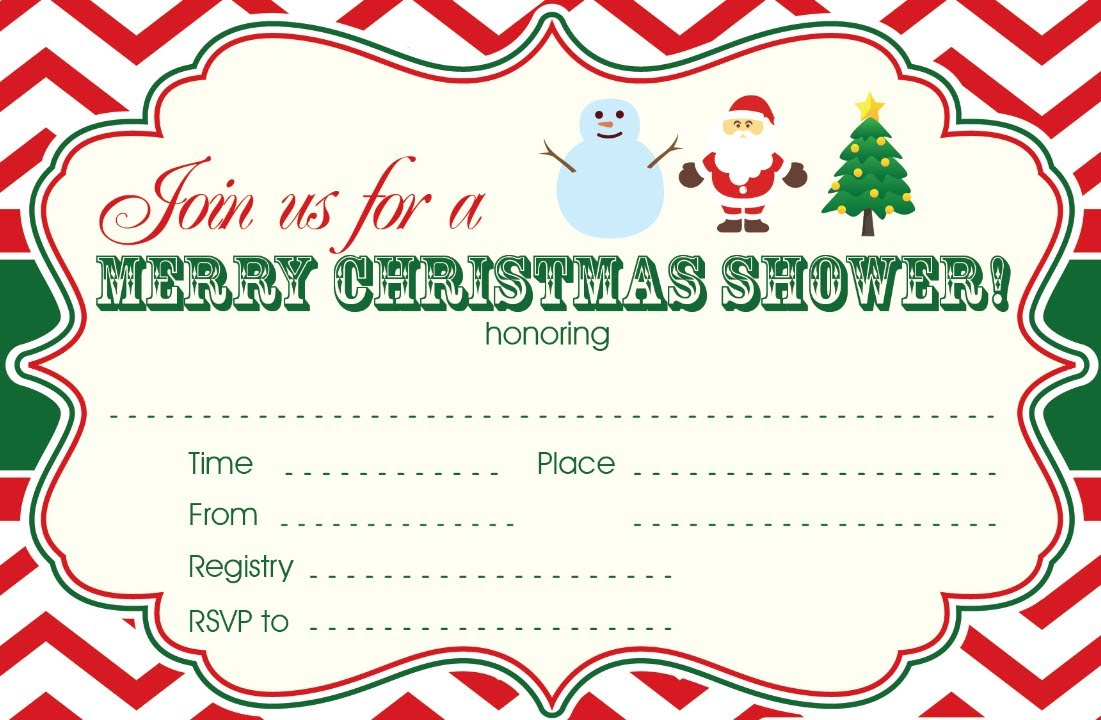 How To Edit Christmas Baby Shower Invitations