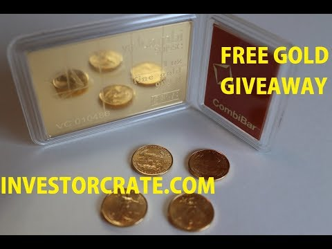 FREE Gold Bullion from Investor Crate.