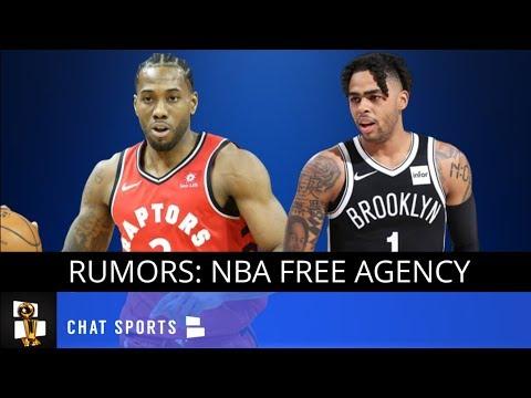 NBA Rumors: D'Angelo Russell Warriors Sign & Trade, Klay Thompson Max Deal, Kawhi Leonard News
