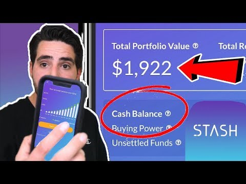 Stash app after 2 years of investing 2018, How I made money on the STASH APP 2018