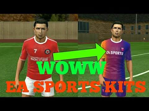 How To Import EA Sports 2018 Kits (Dream League Soccer 18)