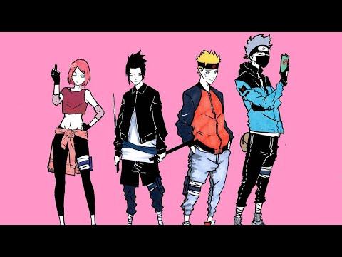 Naruto Dance Off [AMV] Aaron Smith - Dancin (KRONO Remix)