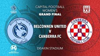 2019 NPL Capital Women's Grand Final - Belconnen United FC v Canberra FC