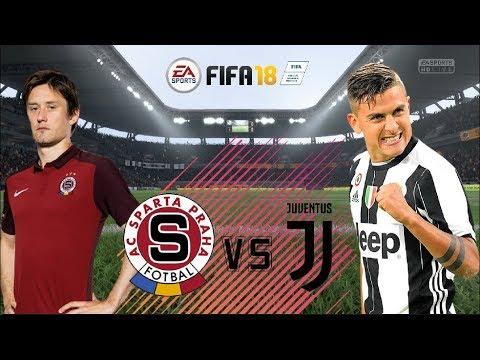 FIFA 18 | AC Sparta Praha - FC Juventus