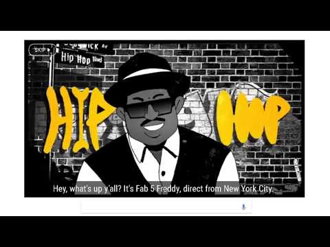 Google Doodle celebrates the 44th Anniversary of the Birth of Hip Hop HERE'S MY TRY !!