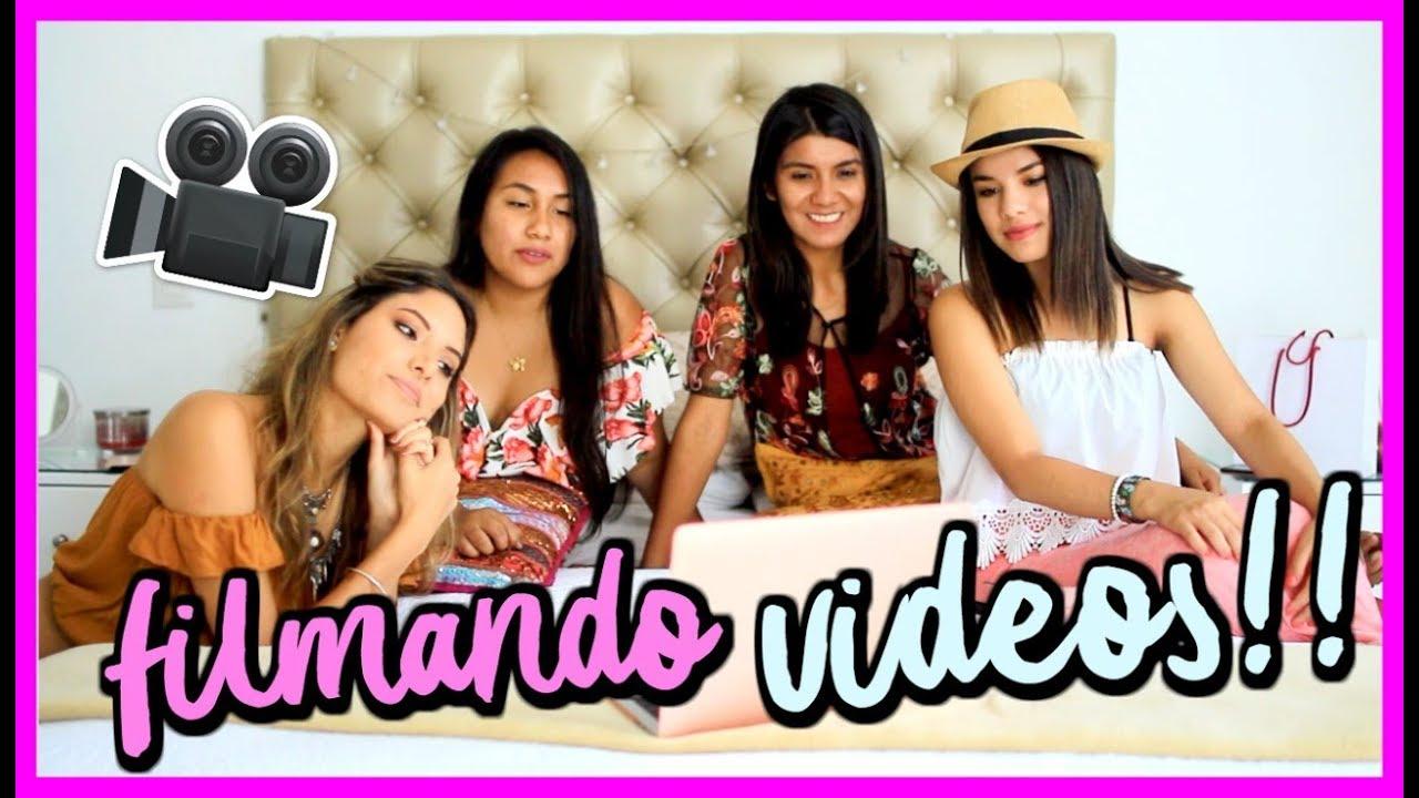 GRABANDO UN VIDEO ESPECIAL! 😍💕| VALERIA BASURCO | ValeriaVlogs