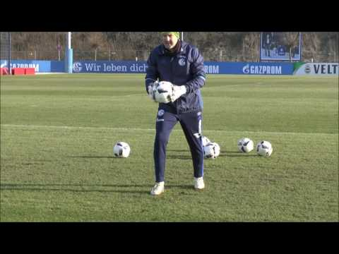 Goalkeeper Training at Schalke 04 (28.01.2017)