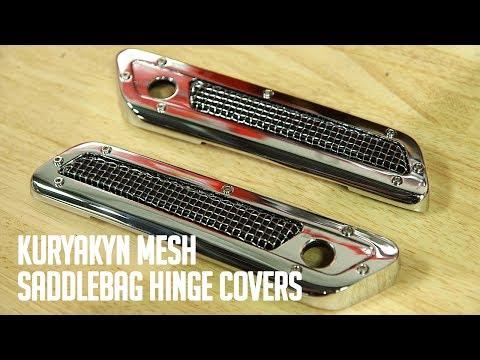 Kuryakyn Saddlebag Hinge Covers