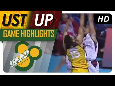 UP vs. UST | Game Highlights | UAAP 80 Men's Basketball | October 11, 2017