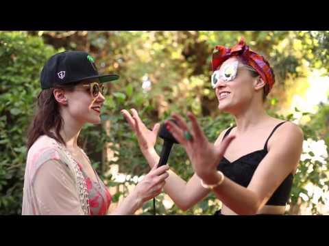 Mia Moretti X MAC @ Coachella 2015