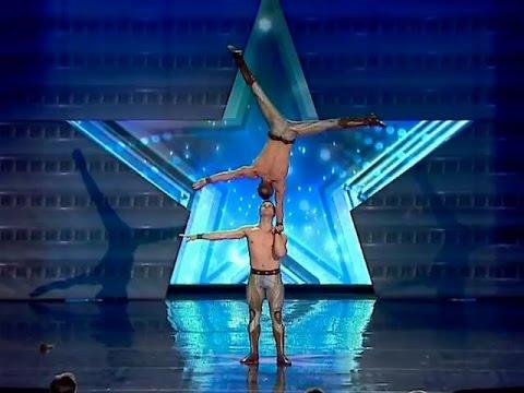ნიჭიერი  უკრაინელი აკრობატები  Nichieri  Ukraineli akrobatebi