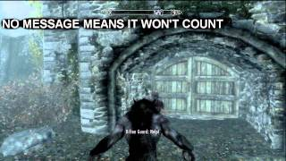 Baixar Skyrim Master Criminal Achievement Trophy Guide / Tutorial (30 mins or less) - [HD]