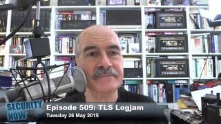 Security Now 509: TLS Logjam
