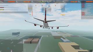 The Best Landing I Can Do In Flightlined Roblox