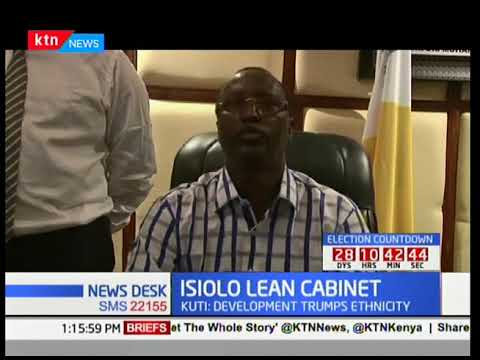 ISIOLO LEARN CABINET: Governor picks six executives