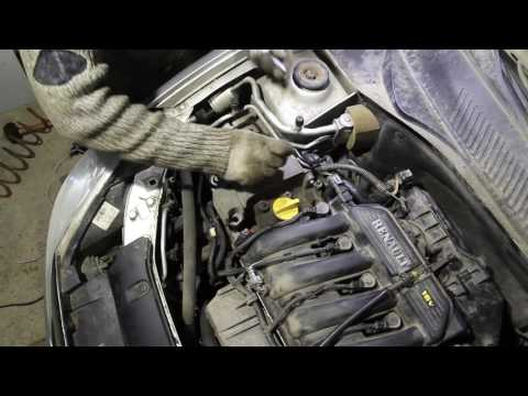 Ремонт двигателя K4J на Renault Symbol (3я часть)