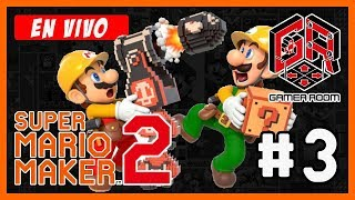 🔴 [DIRECTO] Super Mario Maker 2 - Training Room