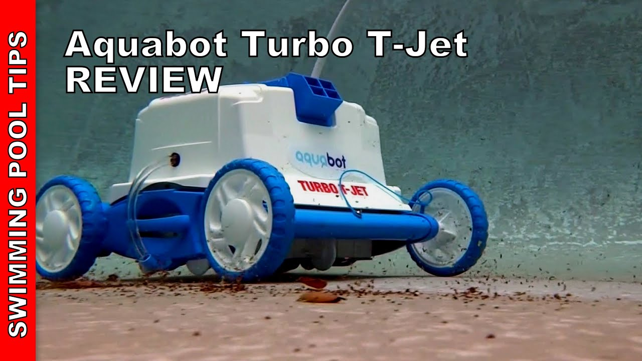 Aquabot Turbo T Jet Robotic Pool Cleaner With Power