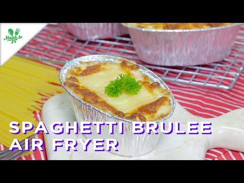 😱IDE JUALAN DIJAMIN LARIS MANIS!! | Spaghetti Brulee Air Fryer