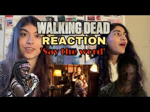 Download The Walking Dead Reaction   S3 E5   Say the word