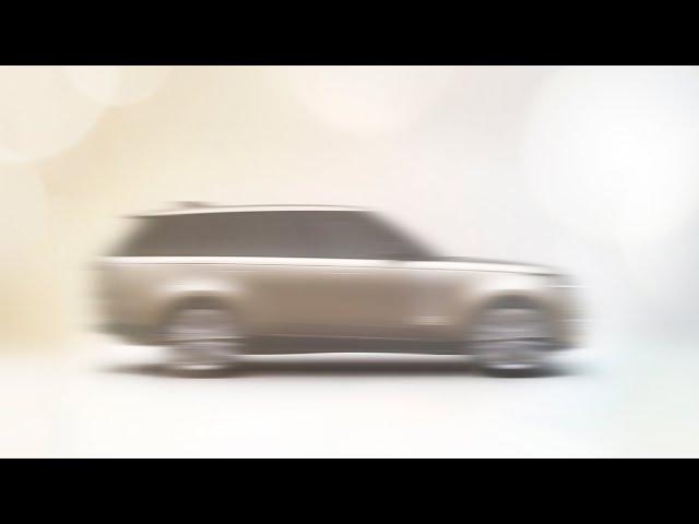 New Range Rover Livestream: 26 October 2021, 20.40 BST