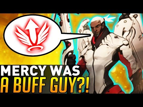Overwatch | Mercy Was Almost a Buff Guy!? (Unreleased Concept Art)