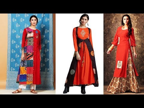 Latest Silk Kurti Designs Part:01