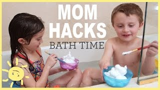 Video MOM HACKS ℠ | Bath Time! (Ep. 5) download MP3, 3GP, MP4, WEBM, AVI, FLV Agustus 2018