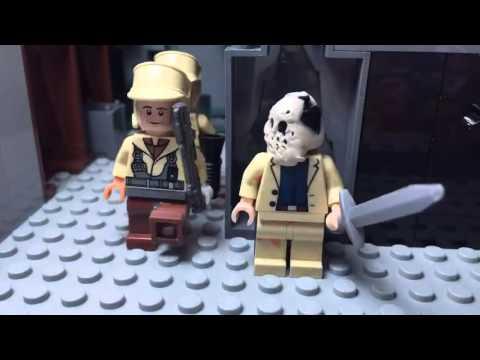 Lego animaition: Nazi prison