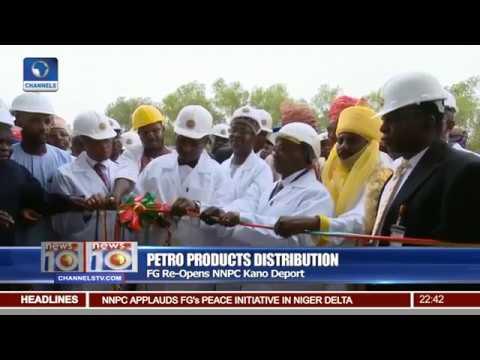 FG Re-opens NNPC Kano Deport