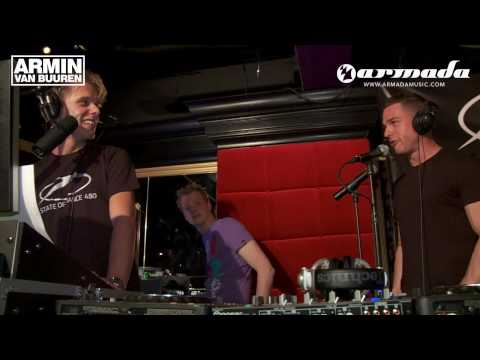 Armin van Buuren's Afternoon Radio Broadcast at Toronto
