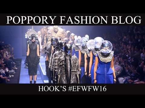 HOOK'S  [ELLE ELLEMEN FASHION WEEK FW2016] VDO BY POPPORY