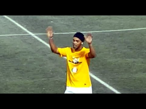 Ronaldinho Football Skills Show in Atlanta...
