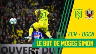 Le but de Moses Simon face à Nice
