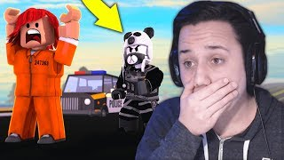 "REACTING TO ""ROBLOX JAILBREAK MOVIE"" *FEATURING ME!*"