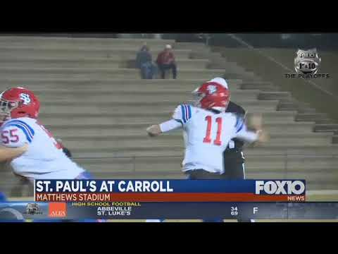 VIDEO HIGHLIGHTS: St. Paul's at Carroll