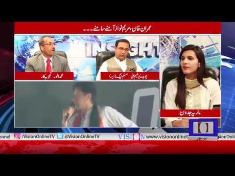 Insight with Maria Jadoon (Ch. Naeem Ali (PMLN), Senior Analyst M Anwar )