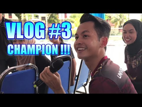 VLOG #3 - AERODANCE CHAMPION in UPSI ! ( ft full performance )