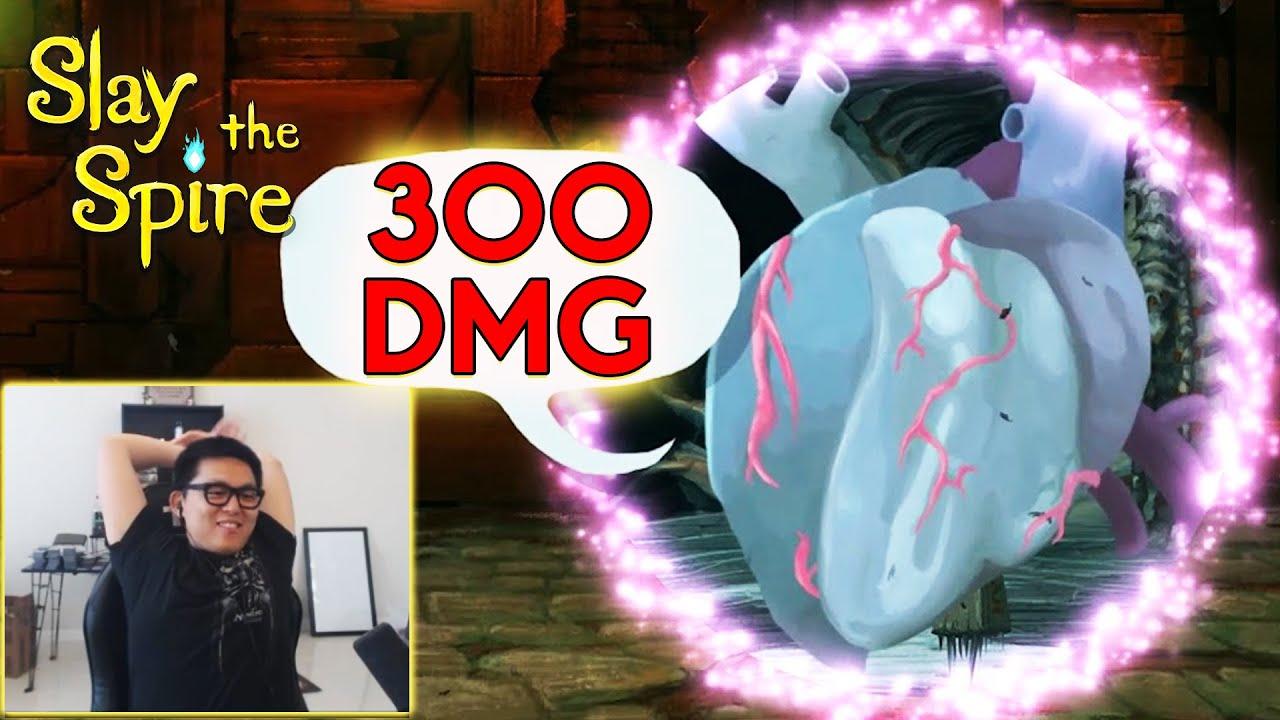 HEART CAN DO 300 DMG? - Amaz Slay The Spire
