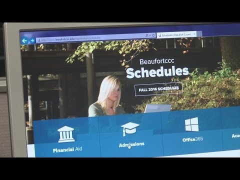 Beaufort County Community College rolls out self-service to students