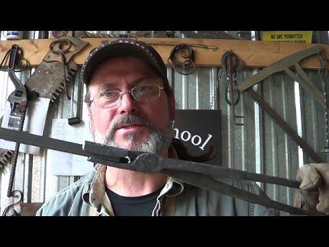 Blacksmithing - Another Go At Forging Tongs - 1/2 Square Tongs