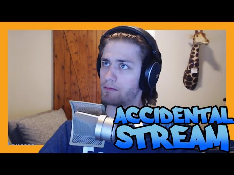 WARNING: CRINGE - Chance Accidentally Turns On Stream For 2 Minutes When Testing OBS Settings