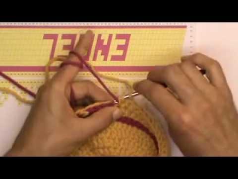 Häkeln Pixelmaschen Mütze Mit Namen Teil 3 Buchstaben Anfang Youtube