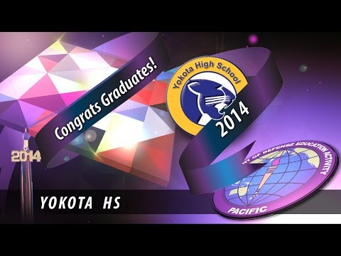 DoDEA Pacific: Yokota High School graduation 2014