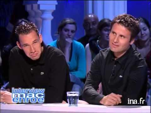 Interview Mac Enroe Fabrice Santoro et Michaël Llodra - Archive INA