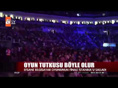ATV Haber League of Legends Türkiye Büyük Finali Ülker Sports Arena