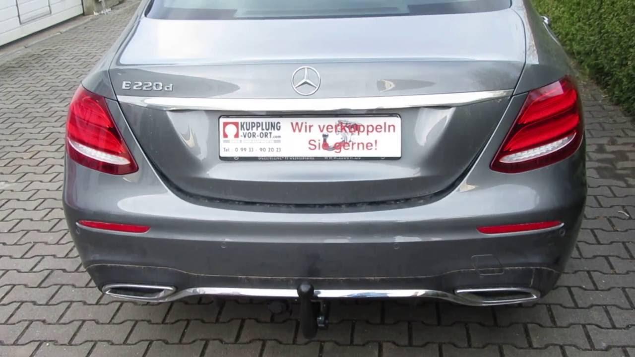 Schwenkbare anh ngerkupplung f r mercedes e klasse w213 for Mercedes a klasse amg interieur