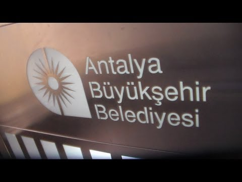 Public transport & elevators in Antalya, Turkey